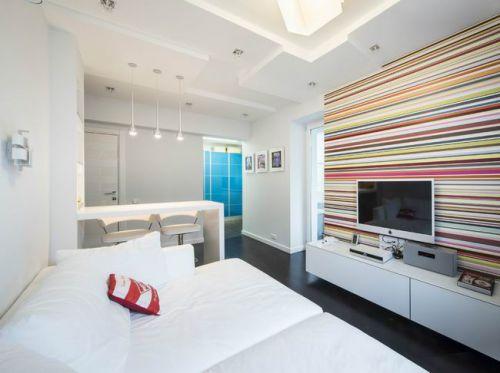 时尚现代小户型客厅效果图