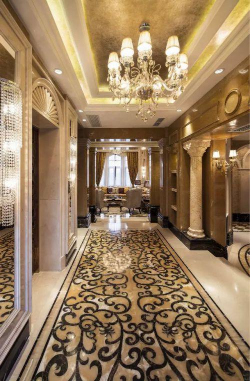 欧式风格客厅过道装修效果图