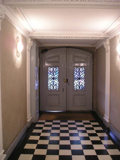100平米时尚欧式风格客厅过道设计