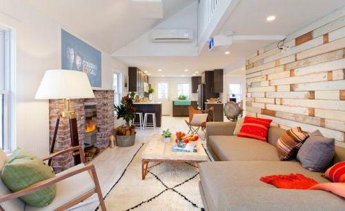 美式风格公寓客厅效果图欣赏