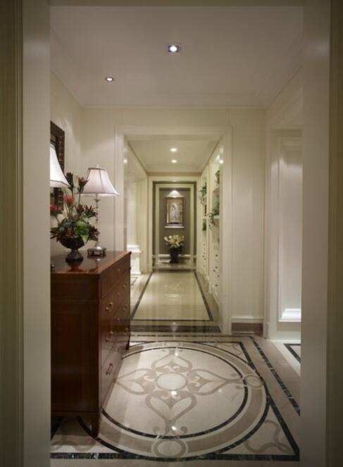 120平现代美式风格别墅室内国道设计
