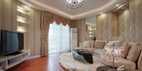 金竹苑新古典三居客厅飘窗图片