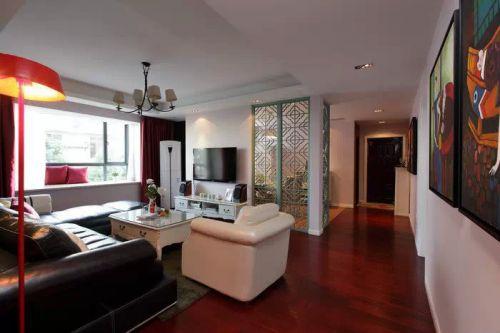 客厅新古典风格设计过道图片