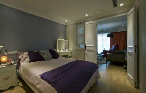 美式客厅与卧室隔断设计