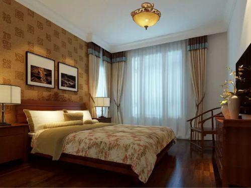 低调欧式卧室飘窗设计