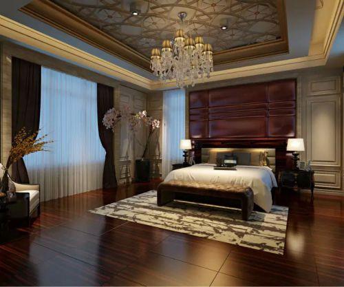 古典欧式装修卧室飘窗图片