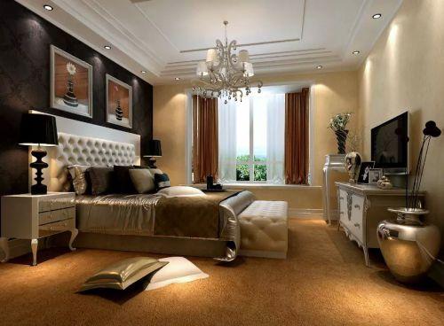 欧式风格卧室飘窗效果图欣赏