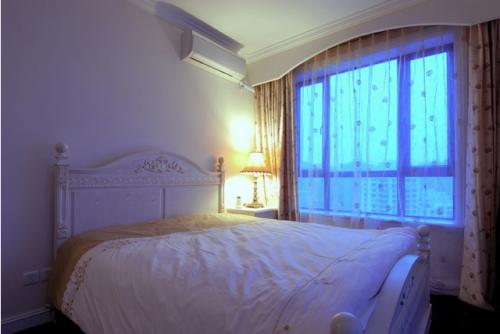 时尚欧式风格卧室飘窗大全