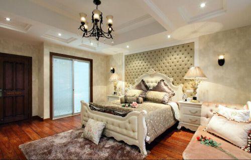 古典美式别墅卧室图片