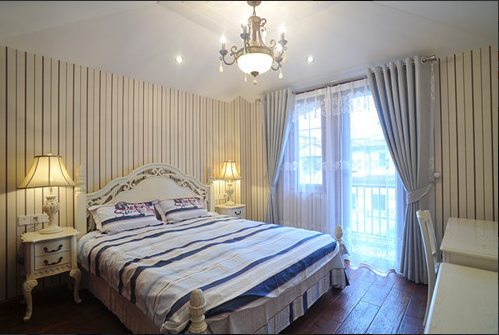 483平美式清新卧室设计
