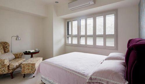 美式简约卧室设计效果图