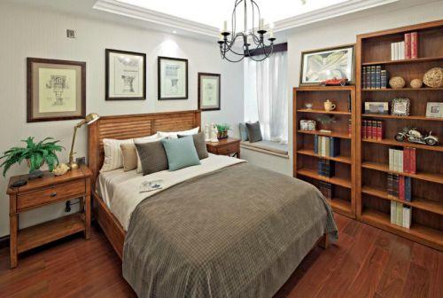 美式复古设计卧室欣赏