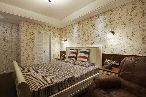 美式卧室效果图展示