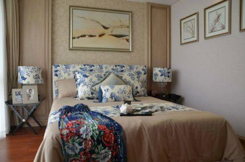 中式混搭风格卧室设计图片