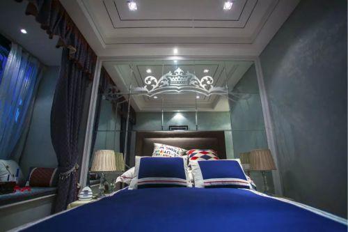 卧室窗帘装修效果图设计