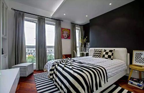 个性家装卧室背景墙图片欣赏