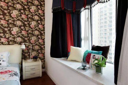 混搭风格卧室阳台家装设计