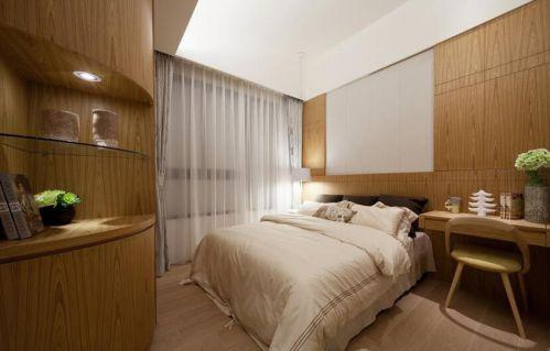 日式风格现代两居室卧室效果图