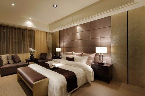优雅日式家居卧室效果图片