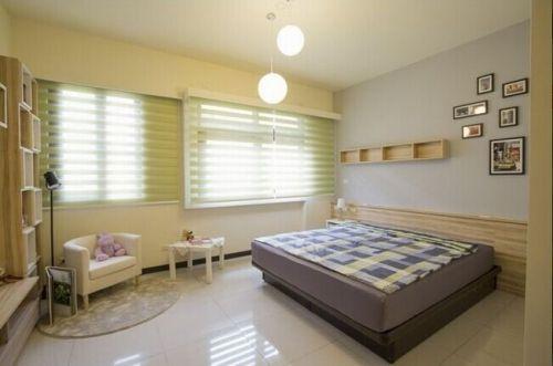 日式风格温馨卧室效果图