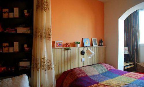 小户型东南亚风格卧室效果图