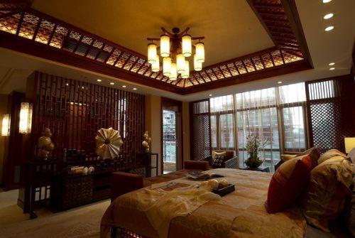 东南亚复古卧室设计图片