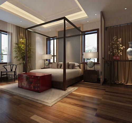 东南亚风格简约卧室装修