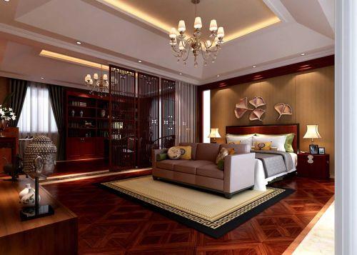 复古东南亚风格卧室设计