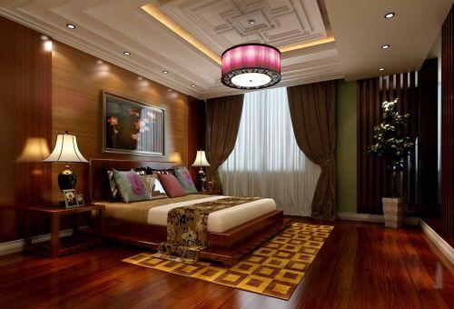简洁东南亚风格卧室设计