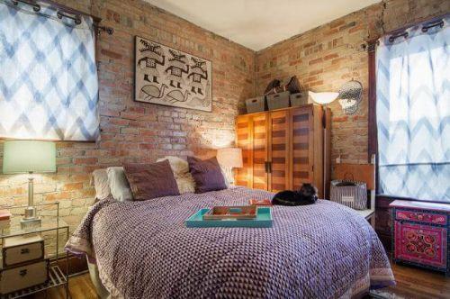 93平米家装卧室东南亚复古风格图片