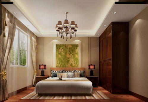 卧室东南亚风格图片
