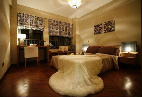 东南亚风格装修卧室效果图