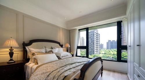 新古典风格卧室飘窗设计