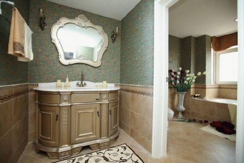 混搭二居室卫生间隔断图片