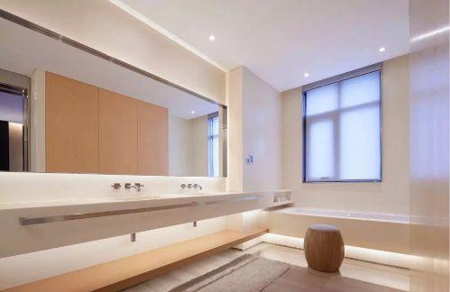 中式浴房浴室镜装修效果图