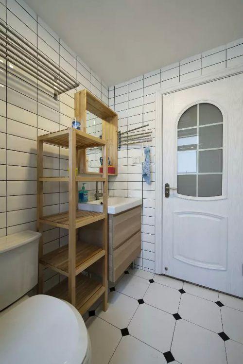 中式家装卫生间装饰效果图欣赏