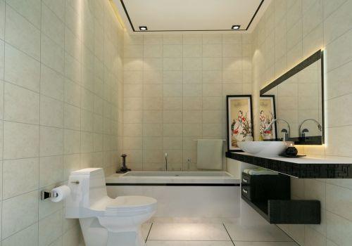 中式风格家居卫生间装潢