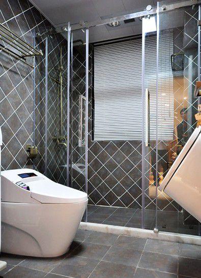 118平米现代中式风格卫生间装修设计