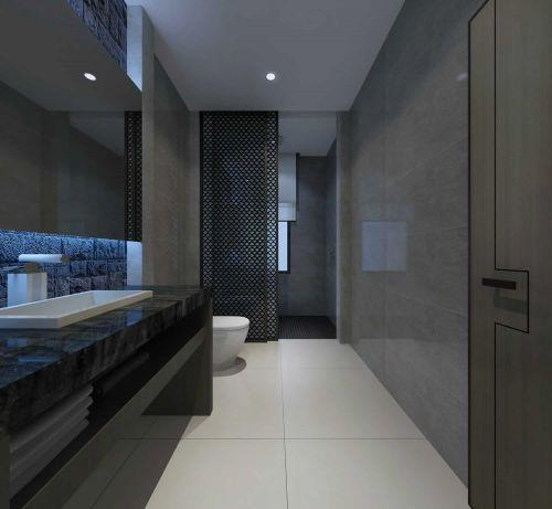 89平米时尚中式风格卫生间吊顶设计