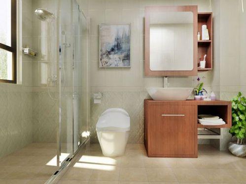 中式装修风格卫生间效果图