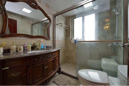 欧式古典卫生间图片2015