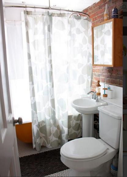 120平米田园风格两居室卫生间马桶设计