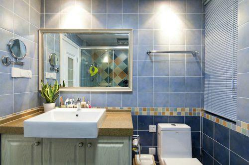 凤凰城二居室卫生间背景墙图片