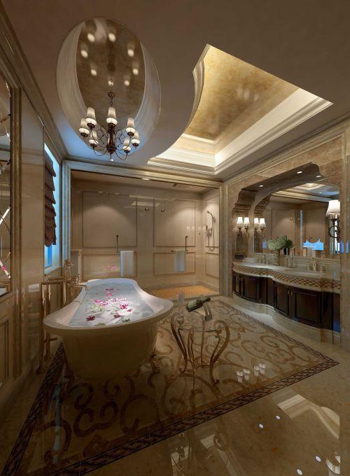 豪华美式风格卫生间设计