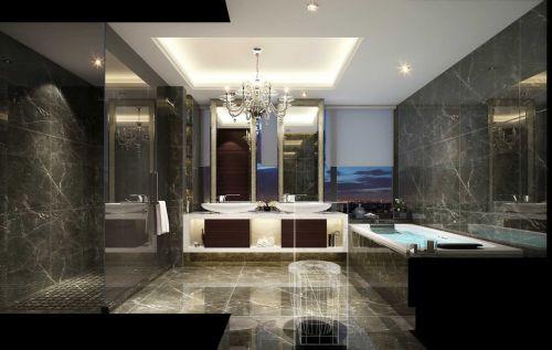 卫生间美式装修风格图片欣赏