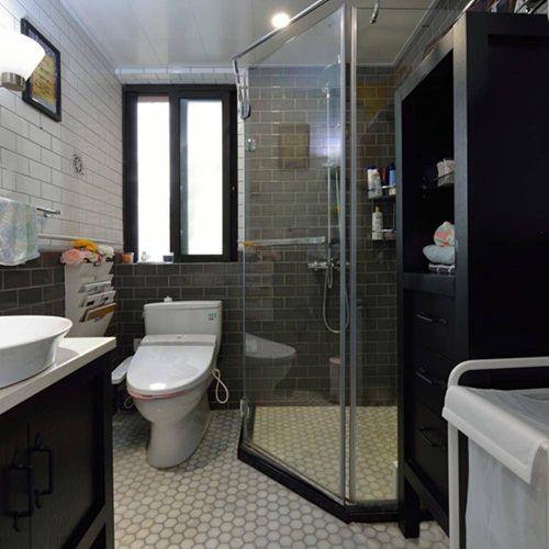 美式风格家居卫生间设计