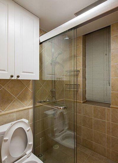 美式65平家居卫生间设计