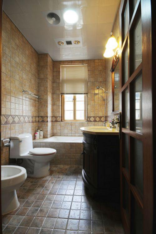 美式风格别墅卫生间设计