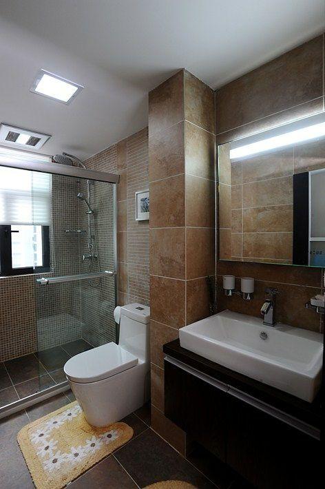 美式二居室卫生间设计