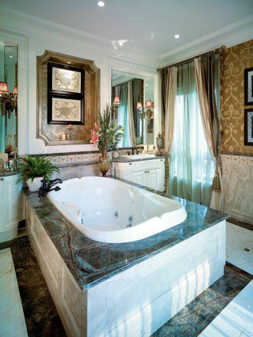 大溪谷浴室